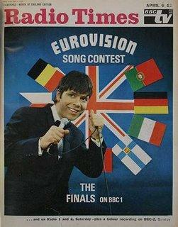 cartel eurovisión años 60