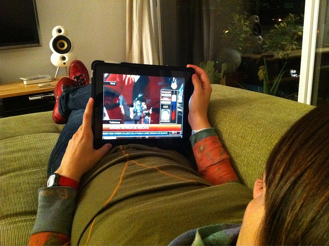 tv en ipad. leo.prie.to