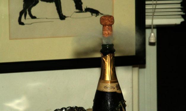 La teoría de la botella de champán