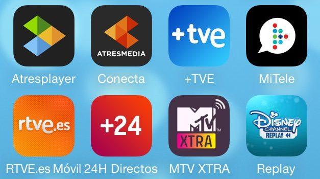 Acerca de las aplicaciones Second Screen de las cadenas españolas