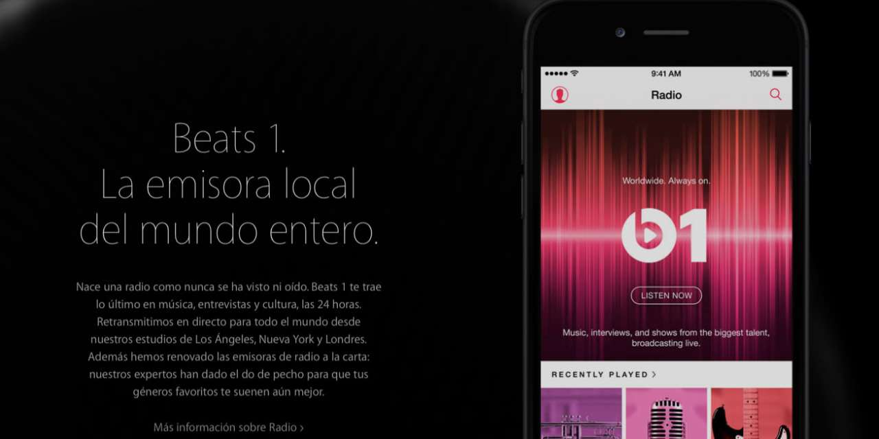¿Reinventa Apple la radio musical?