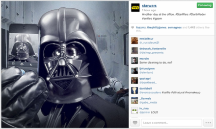 Star Wars – El despertar de la fuerza… del marketing en redes sociales