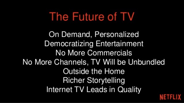 Extracto de la presentación de Neil Hunt - Chief Product Officer Netflix en Internet World 2014