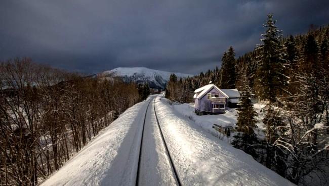 Nordlandsbanen, 2012. FOTO_ NKR