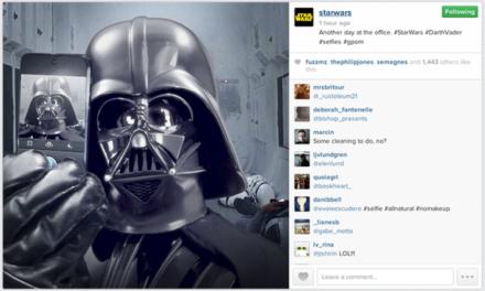 Star Wars – El despertar de la fuerza… del marketing en redes sociales
