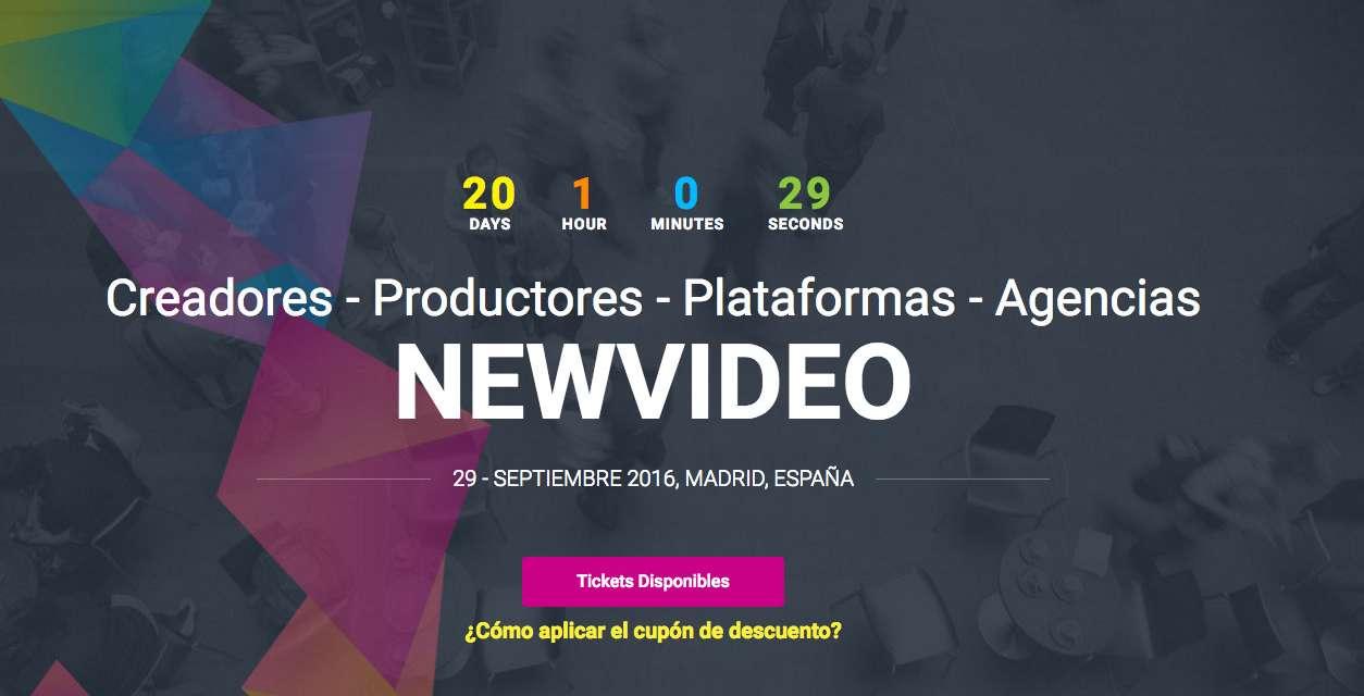 Apúntate al 10º Foro Innovación Audiovisual en New Video: el congreso nuevos formatos de grabación y distribución de contenidos audiovisuales