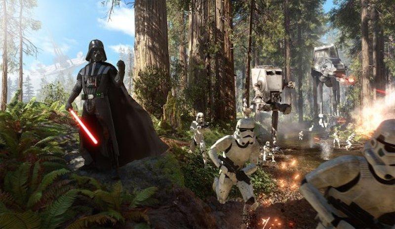 Quizás el fiasco de Star Wars Battlefront se deba a que no es muy engaging corretear junto a decenas de stormtroopers idénticos